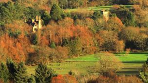 View from Mynydd Drumau