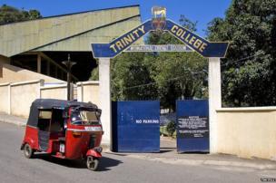 Entrance to Asgiriya Stadium