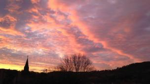 Early morning in Risca, near Newport by Kathleen Rousen