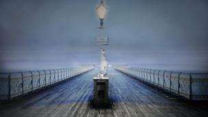 Lisa Wilmot captured this picture of fog surrounding Penarth pier