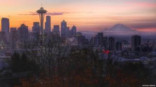 Seattle in Washington