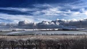 Clouds over Lochgelly