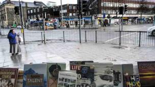 Golygfa stryd: Caerdydd