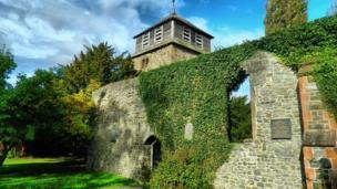 St. Mary's Church in Newtown, Powys