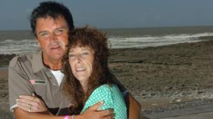 Steve Strange with his sister Tanya