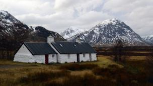 Black Rock Cottage in Glencoe