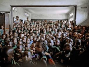Holy Trinity Primary School, Freetown, Sierra Leone, 2012