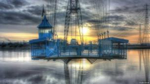 Roger Fuller's image of Newport's Transporter Bridge