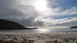 Colette Thomson, from Dunfermline in Fife, took this picture of Calgary Bay, Isle of Mull during her first visit to the island. She said it won't be her last.