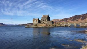 Neil King, from Edinburgh, enjoyed a three day trip to the Isle of Skye and pictured Eilean Donan castle.