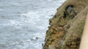 John Cranston captured this 'rock face' overlooking St Andrews Bay.