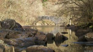 Michael Gardner took this picture while on a walk through Elan Valley in Powys