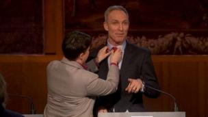 Jim Murphy has tie fixed by Ruth Davidson at BBC debate on 8 April