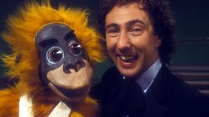 Keith Harris and Cuddles the Monkey