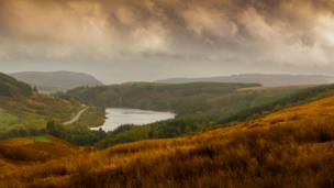Mike Colley took this view of the Cantref Reservoir in the Brecon Beacons
