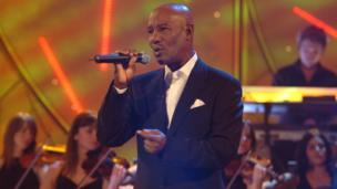 Errol Brown performs on All Time Greatest Love Songs 2004
