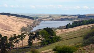 Dai Phillips from Milford Haven took this picture of Crai reservoir in the Brecon Beacons National Park