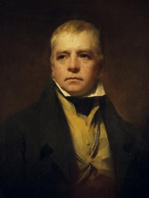 Sir Walter Scott (1822), by Sir Henry Raeburn