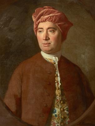 David Hume (1754), by Allan Ramsay