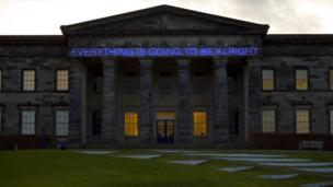 Everything Is Going To Be Alright (2008), by Martin Creed