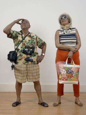 Tourists (1970), Duane Hanson