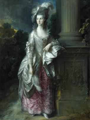 The Honourable Mrs Graham (1775 - 1777), by Thomas Gainsborough