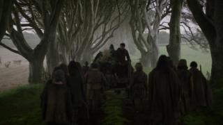 The Dark Hedges outside Ballymoney are a draw for Game of Throne fans