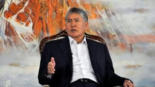 President Atambayev