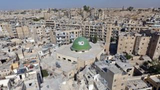 старе місто в Алеппо