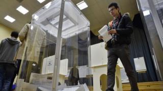 вибори росія
