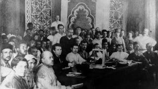 Делегаты съезда народов Востока, Баку, 1920 год