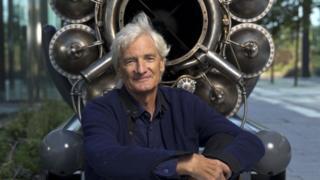 James Dyson waa mulkiilaha shirkadda Dyson
