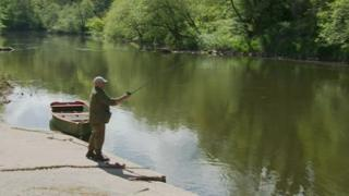 Fisherman on the Wye