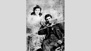 Donald Adolphus Brown and Adelaide Knight