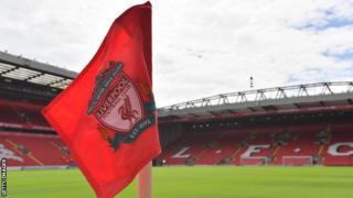 Liverpool corner flag