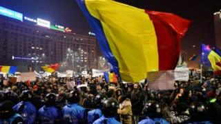 Protes di Bukares.