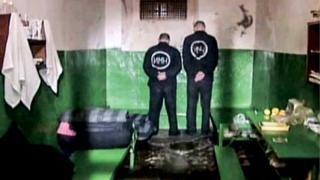 Inmates in prison in Minsk in 2006