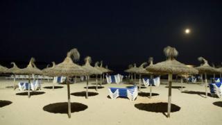 Beach at Sa Coma, Majorca