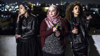 Sana Jammelieh, Shaden Kanboura and Mouna Hawa