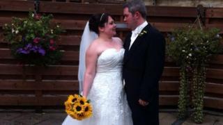 Келлі-Енн зі своїм чоловіком
