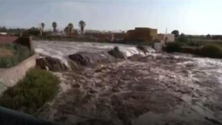 Şili'de yağmur fırtınası