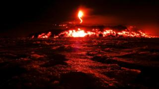 Italy's Mount Etna, Europe's tallest and most active volcano, spewed lava as it erupted on the southern island of Sicily, Italy on 28 February 2017.