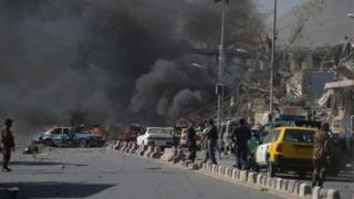 Vụ nổ tại Kabul khiến ít nhất 80 người thiệt mạng