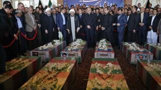 مراسم رسمی در محل مجلس شورای اسلامی در تهران