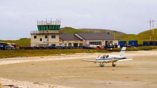 Аеропорт Барра, Шотландія