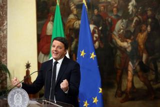 İstifa eden İtalya Başbakanı Matteo Renzi
