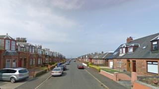 Woodfield Road in Ayr