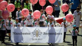 children holding ballons