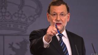 स्पेन के प्रधानमंत्री मारियानो रहोई