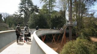 Treetop walkway opens to public